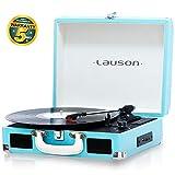 Lauson CL604 Platine Vinyle Bluetooth | Tourne-Disque avec USB | RCA | Valise...