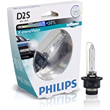 Philips 85122XVS1 Xenon X-treme Vision - Bombilla (D2S, xenón, 1 unidad)