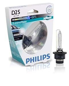 Philips 85122XVS1 Ampoule Xenon X-treme Vision D2S sous blister
