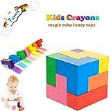 Ocamo Speed Puzzle Cubes juguetes educativos para ni/ños,3x3 cubo de diamantes de desarrollo intelectual