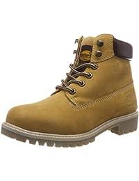 01024ba9e873 Amazon.es  Amarillo - Botas   Zapatos para mujer  Zapatos y complementos