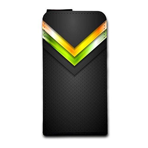 Flip Style Vertikal Handy Tasche Case Schutz Hülle Schale Motiv Foto Etui für Apple iPhone 5 / 5S - Flip V5 Design8 Design 10
