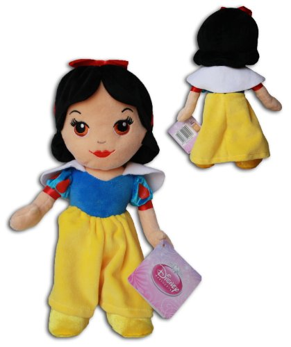 Blancanieves 30cm Muñeco Peluche Princesa Disney 7 Enanitos Chica Morena