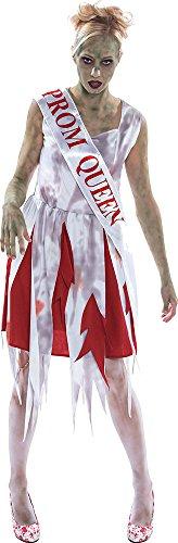 ie Verkleidung Kostümparty Horror Prom Queen Kostüm Outfit ()