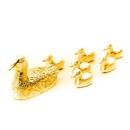ente-und-kriek-hergestellt-in-uk-kunstvolle-tiere-figur-sammlung-22-karat-vergoldung-gold-plattiert