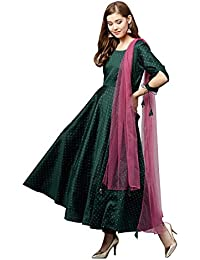 a4a828bef511 Amazon.in: Silk - Salwar Suits / Ethnic Wear: Clothing & Accessories