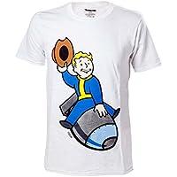 Import Europe - Camiseta Fallout Vault Boy Bomber, Talla M