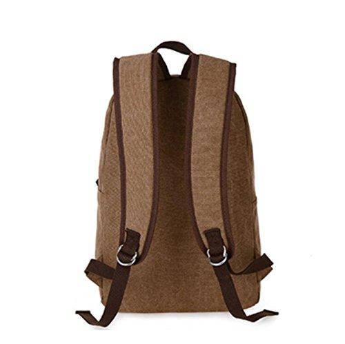 Herren Umhängetasche Große Kapazität Fashion Student Bag Red