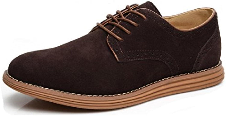 Herren Mode Freizeit Lederschuhe Lässige Schuhe Flache Schuhe Atmungsaktiv Gemuumltlich weissher Boden Trainer Rutschfest
