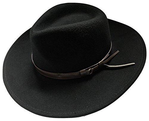 Froissable Safari Chapeau Borsalino Noir