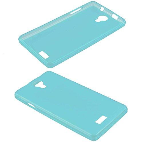caseroxx TPU-Hülle für Archos 50D Neon, Tasche (TPU-Hülle in hellblau)