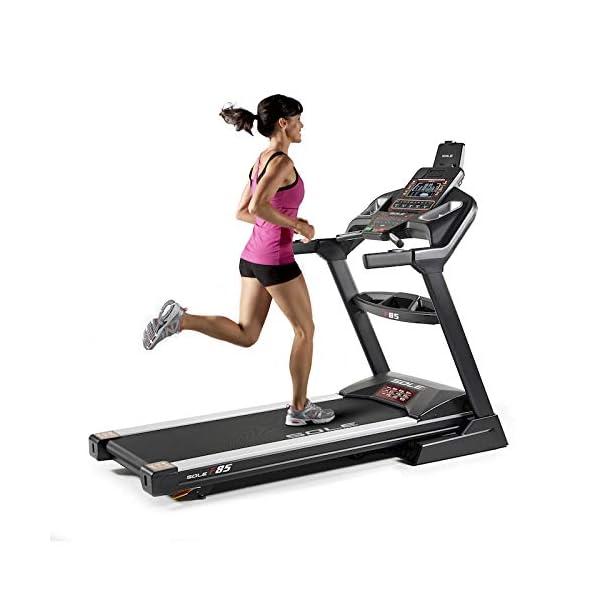 Sole Fitness Tapis Roulant F85-20 Bluetooth 4.0/7.0 HP 22km/h 585x1525 App Ready (Modello 2020) 1 spesavip