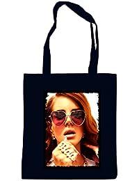 Lana Heartshapeglasses Bolsa Negro