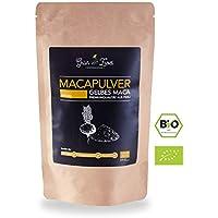 Bio Maca Pulver 200g Premium Auslese von GrünHochZwei | Superfood in kontrollierter Qualität aus Südamerika (Peru) | Macapulver - das natürliche Potenzmittel und Aphrodisiakum