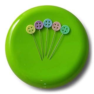 Jeder kann Nähen Nadelkissen magnetisch grün