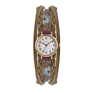 Kahuna – Reloj de Pulsera para Mujer, diseño Floral