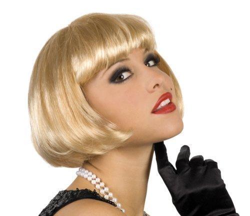 erücke blond (Blonde Pageboy Wig)