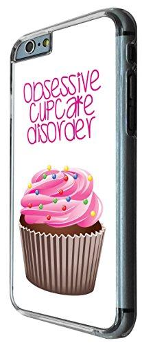 768 - Obsessive Cupcake Disorder Design iphone 6 6S 4.7'' Coque Fashion Trend Case Coque Protection Cover plastique et métal