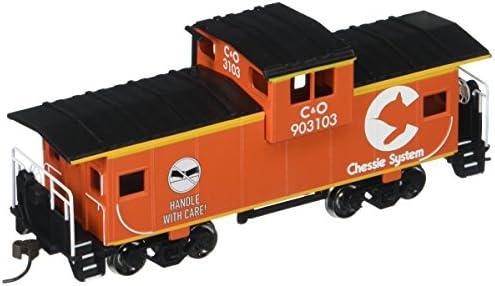 BachFemmen Industries 36 'Wide-Vision Caboose – – – Chessie Orange (échelle Ho) | Online Shop  b35dde