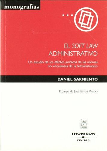 EL SOFT LAW ADMINISTRATIVO