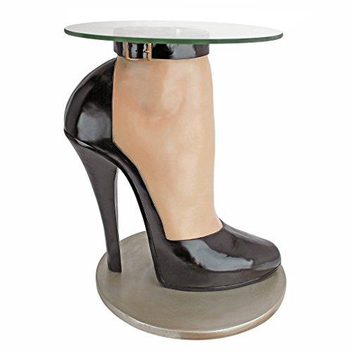 Design Toscano Möchte Jemand Stilettos? Skulpturaler Tisch