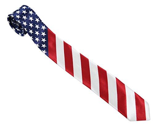 Preisvergleich Produktbild Herren Krawatte Vereinigte Staaten (USA Tie)