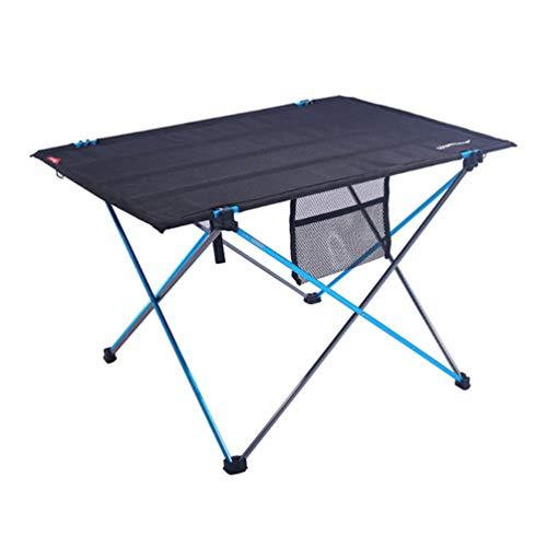 Faltbarer Tisch Stabil Tragbar Einfach Einzurichten Langlebig Tragbar Roll Up Camp Tische für Picknick Im Freien Wandern -