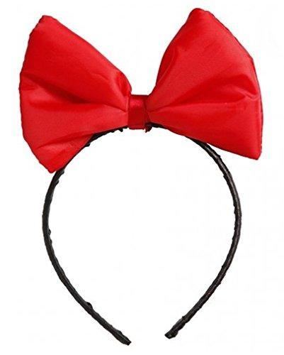 Minnie Kostüm Prinzessin Maus (Roter Prinzessin Kopfschmuck)