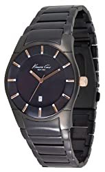 Kenneth Cole Analog Black Dial Mens Watch IKC3900