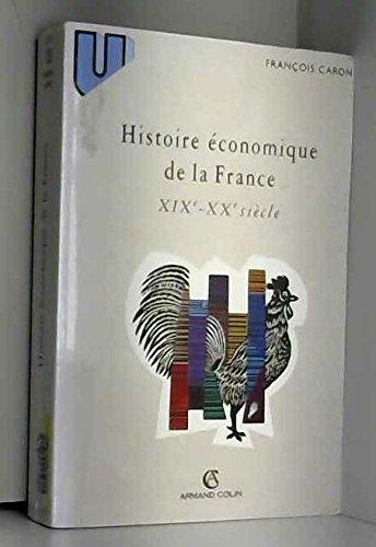Histoire économique de la France : XIXe-XXe siècle