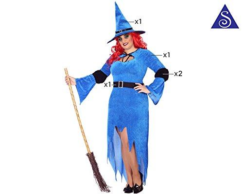 ATOSA 39547 Karnevalskostüm Damen mehrfarbig Größe XXL