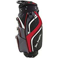 Ben Sayers Men's 14 Way Deluxe Cart Bag - Black/Red