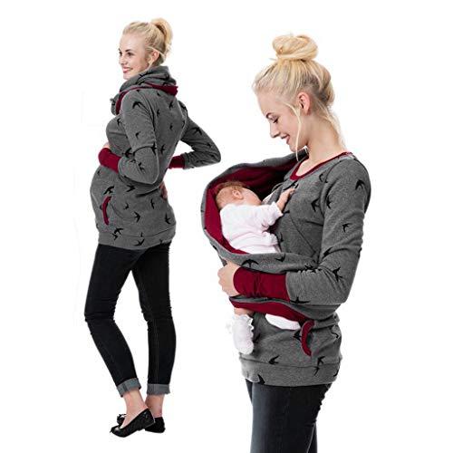 pitashe Damen Umstandsmode Lange Hose Freizeithose Umstandsleggings Jeans für Schwangerschaft Maternity Komfortable Elastische Bund Schwangerschaftshose Denim Umstandsjeans -