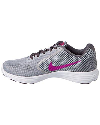 Nike 819303-009, Sneakers trail-running femme Gris