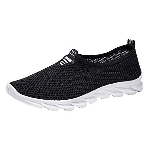 BaZhaHei Moda Scarpe a Rete Sneakers Donna,Studente Respirabile Scarpe Tacco Basso Sportivo Donne Scarpe da Corsa Casual Scarpe da Lavoro Running Fitness Shoes con Sportive All'aperto 36-40