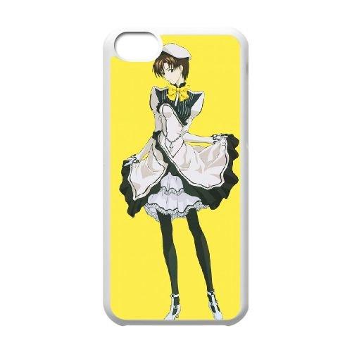 F5T22 Neon Genesis Evangelion cas de téléphone U5V2GY coque iPhone 5c cellulaire couvercle coque blanche FR5JEV3VM