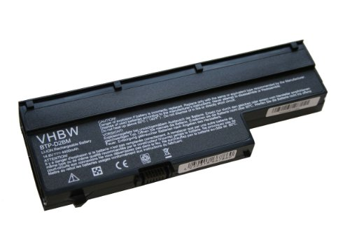 vhbw Li-Polymer Akku 4400mAh (14.8V) schwarz für Medion wie BTP-D2BM, BTP-CMBM, BTP-CNBM, BTP-CWBM, 40026269.