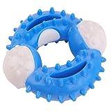 LKING Giocattolo da Masticare 3 in Numero Forma del giroscopio Dimensioni: 10 cm * 10 cm Adatto per Cani di Piccola e Media Taglia Giocattolo per Animali Domestici