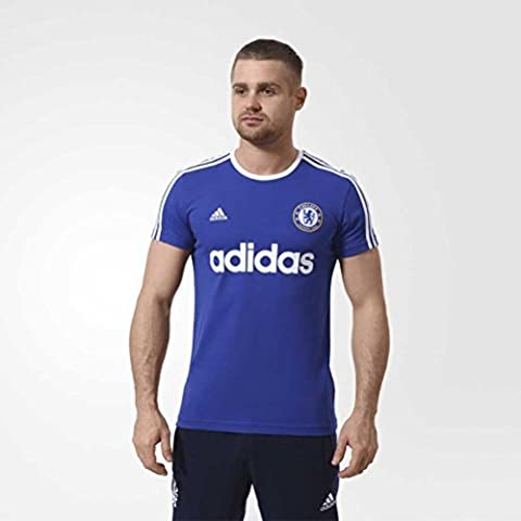 2015-2016 Chelsea Adidas Graphic Tee INS (Blue)