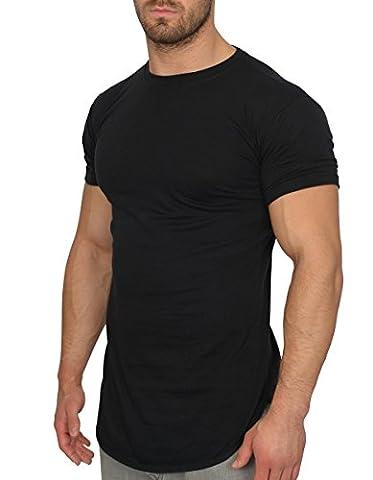 MMC Oversize Shirt Herren - Basic T-Shirt Männer - Kurzarm