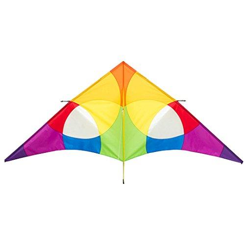 HQ 10642030 - Delta Rainbow 3 m Einleiner, Ab 14 Jahren, 138 x 300 cm Ripstop-Polyester 2-5 Beaufort