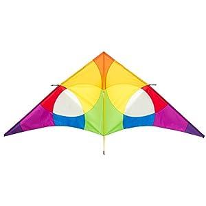 Invento 10642030-Delta Rainbow 3m einleiner, a Partir de 14años, 138x 300cm Poliéster Ripstop 2-5Beaufort