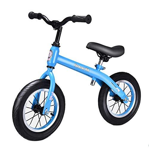 Hejok Laufrad Blau - Laufrad Kinder, Kinder Balance Auto 14 Zoll Kinder StoßDäMpfung Balance Auto Rutsche Mit Bremse Baby Roller Fahrrad Yo Auto, Blue -