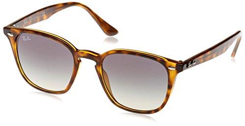 Ray-Ban RAYBAN Unisex-Erwachsene Sonnenbrille 4258 Havana/Greygradientdarkgrey, 50