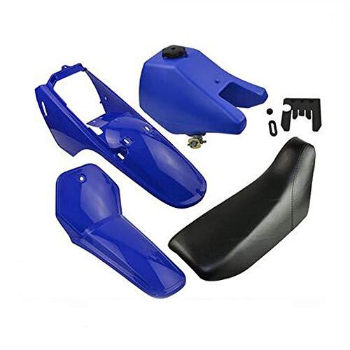 Shiwaki La Bo/îte De Filtre /à Air Bleue De Pi/èces De Moto Convient /à La Yamaha 80 PW80 PY80 PeeWee80