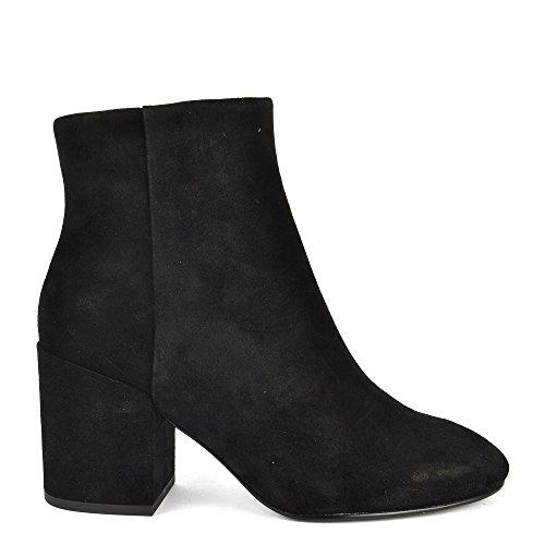 Ash Footwear Ash Chaussures Eden Boots a Talon Noir Femme