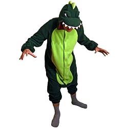 Dinosaurio - Todo en un disfraz para adultos - Onesie Kigurumi