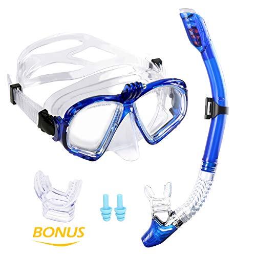 Premium Kit Snorkel WEINAS® Gafas Buceo Tubo Compatibles