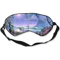 Beautiful Moonlight Paradise 99% Eyeshade Blinders Sleeping Eye Patch Eye Mask Blindfold For Travel Insomnia Meditation preisvergleich bei billige-tabletten.eu