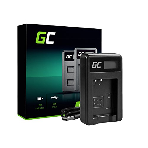 Green Cell® MH-65 Ladegerät für Nikon EN-EL12 Akku und Coolpix AW100 AW110 AW120 A900 S9900 S9200 S9100 S8200 S8100 S8000 S6300 S8100 P330 P310 S31 S70 S610 S1200pj S1000pj Kameras (2.5W 4.2V 0.6A) A900 Kamera